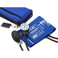 ADC 768-641-11ARB Pro Combo II Sphygmomanometer Latex Free-Royal Blue