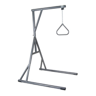 Drive Medical 13049SV Bariatric Heavy Duty Trapeze Bar-Silver Vein