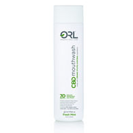 ORL Labs Freshmint Mouthwash with ORGANIC Xylitol-16.9 oz